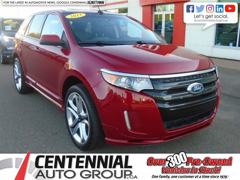 2011 Ford Edge AWD Sport | 3.7L | Bluetooth | Backup Camera #U1804A