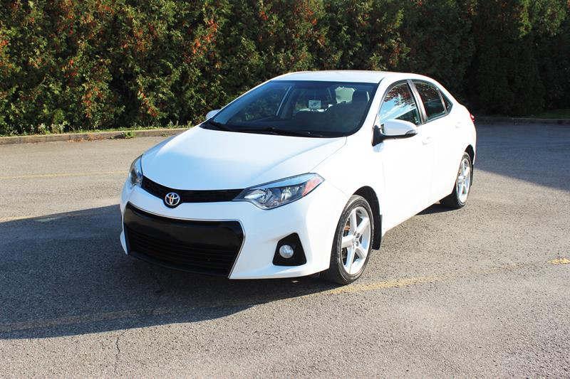 Toyota Corolla 2015 S - MAGS - CUIR - CAMERA - (RESERVÉ) #476