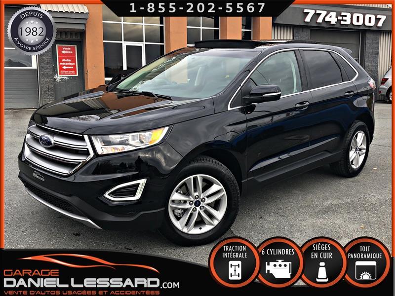 Ford EDGE 2018 SEL AWD, CUIR, TOIT PANO, GPS, CAMÉRA #88440
