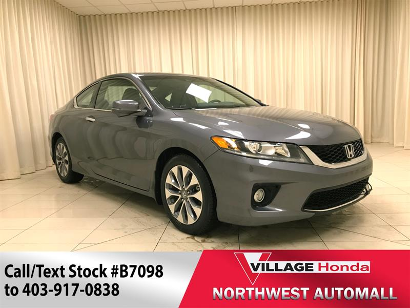 2013 Honda Accord Coupe EX-L Navi  #B7098