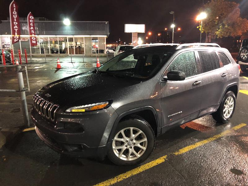 Jeep Cherokee 2015 4WD 4dr North+TOIT+NAV+4X4+WOW! #UD4870A