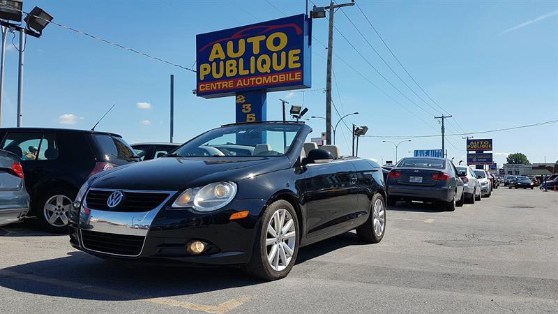 Volkswagen Eos 2008 HIGHLINE 2.0L TURBO CONVERTIBLE #22484