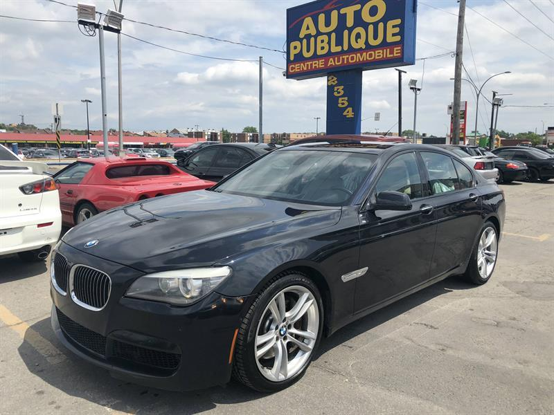 BMW 750 2012 750xi traction intégrale  #40128