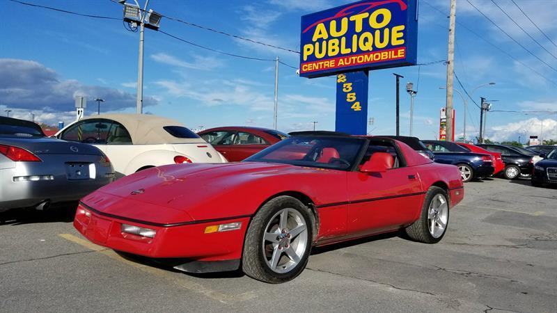 Chevrolet Corvette 1984 TOIT TARGA #22748