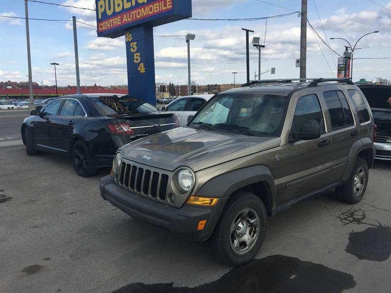 Jeep Liberty 2007 4 RM, 4 portes, Sport #CONSIGN-AC