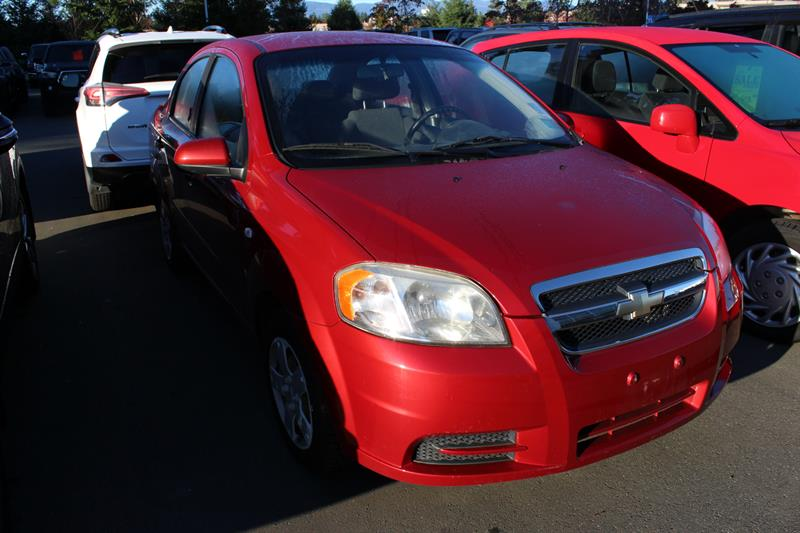 2008 Chevrolet Aveo 4dr Sdn LS #12076A