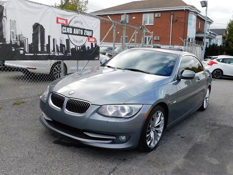 BMW 3 Series 2011 CABRIOLET 335i BI-TURBO TRACTION ARRIÈRE #BE580796