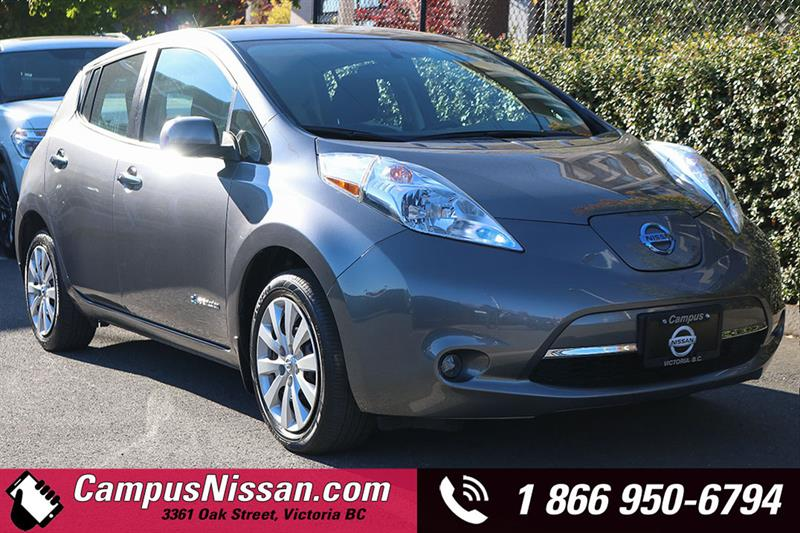 2015 Nissan Leaf S w/ Quick-Charge #JN3023