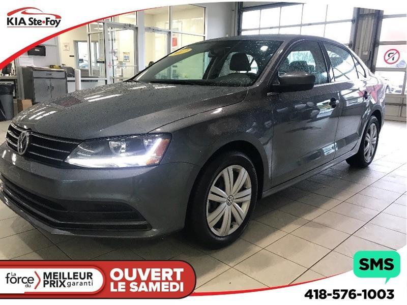 Volkswagen Jetta 2017 **1.4 TSI** A/C * SIÈGES CHAUFFANTS * CRUISE * #U1993