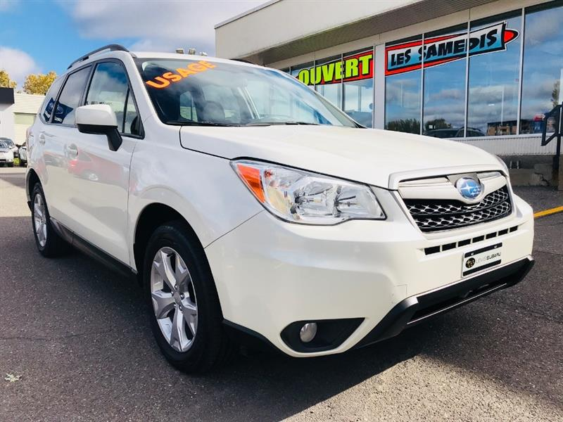 Subaru Forester 2015 2.5i Convenience Package (CVT) #15654A