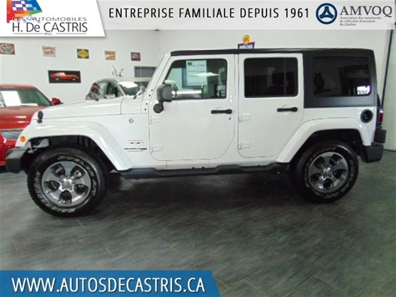 Jeep Wrangler 2018 Unlimited Sahara #JL833855