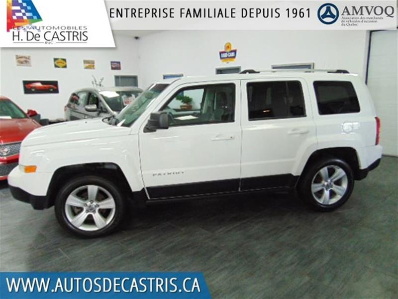 Jeep Patriot 2014 LIMITED*4X4, CUIR, MAGS #ED916885