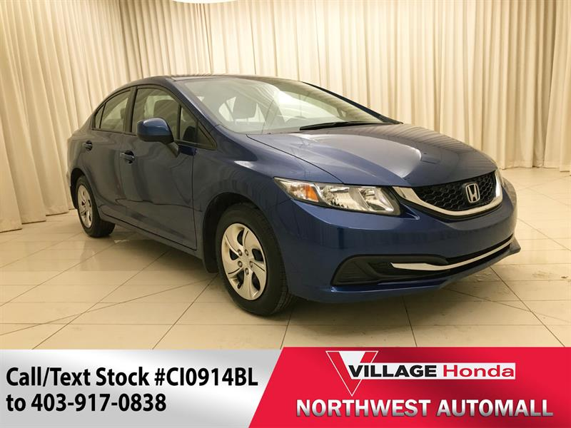 2013 Honda Civic Sedan LX Sedan Auto #CI0914BL