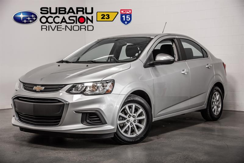 Chevrolet Sonic 2017 LT MAGS+BLUETOOTH+CAM.RECUL #943408