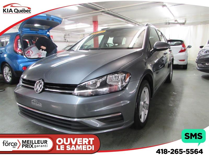 Volkswagen Golf SportWagen 2018 TRENDLINE* 4MOTION* CAMÉRA DE RECUL* #QU10326