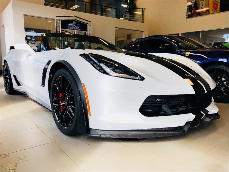 Chevrolet Corvette 2018 Z06  650 hp,freins en ceramique,sequentiel #10035F