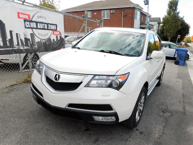 Acura MDX 2011 AWD TECHN PACKAGE NAVIGATION BLUETOOTH #BH001781