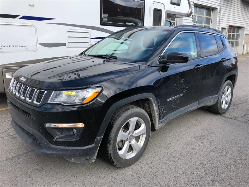 Jeep Compass 2018 North 4x4+MAGS+CUIR/TISSUS+WOW! #UD4955