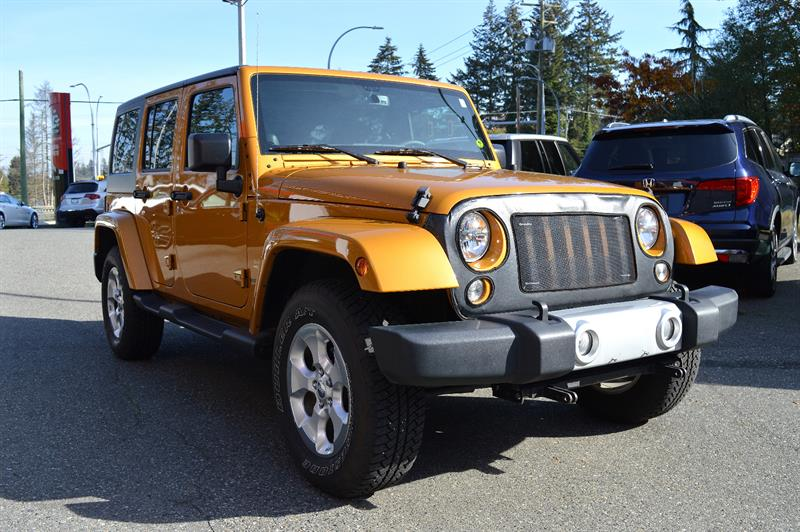 2014 Jeep Wrangler Unlimited 4WD Sahara / ONE OWNER / 25K #CWL8795B