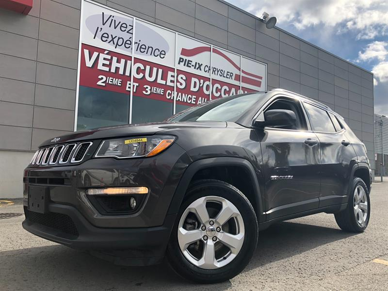 2018 Jeep Compass North 4x4+MAGS+CUIR/TISSUS+WOW! #UD4944