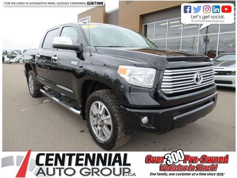 2016 Toyota Tundra Platinum 5.7L 4x4 | Leather | Sunroof #U626