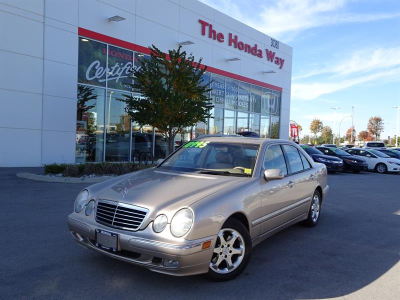 2002 Mercedes-Benz E320 E320 - MEMORY FRONT SEATS, POWER WINDOWS/LOCKS, LE #P5168A