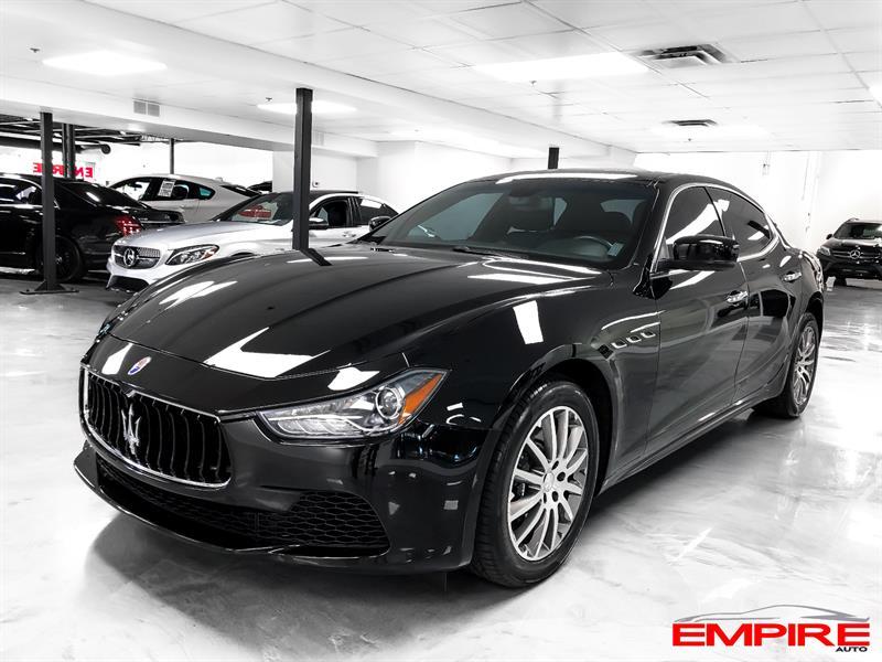 Maserati Ghibli 2014 S Q4 404HP #A117845