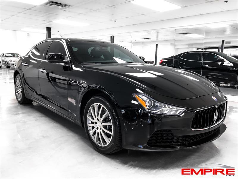 2014 Maserati Ghibli S Q4 404hp Used For Sale In Saint Eustache At