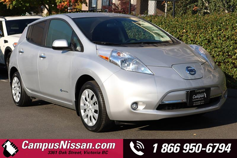 2015 Nissan Leaf S w/ Quick-Charge #JN3031