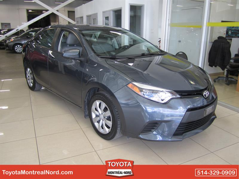 Toyota Corolla 2014 LE CVT Aut/Ac/Vitres,Portes,Miroirs Electriques  #3398 E