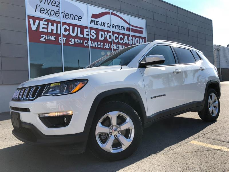 Jeep Compass 2018 North 4x4+MAGS+CUIR/TISSUS+WOW! #UD4941