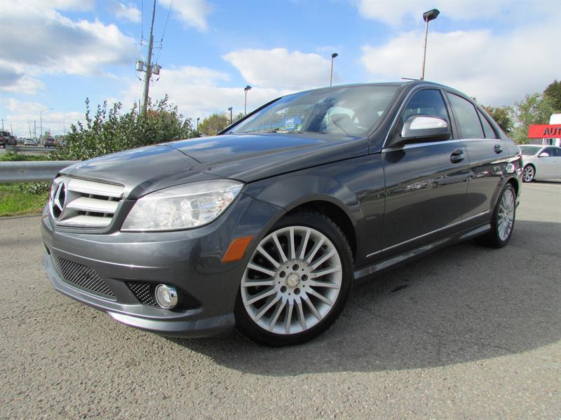 Mercedes-Benz C250 2009 V6 2.5L 4MATIC A/C CRUISE BLUETOOTH!!! #3994