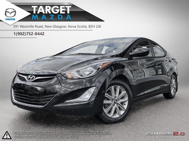 2016 Hyundai Elantra $59/WK TAX IN! SUNROOF! AUTO! A/C! HEATED SEATS! #U0749