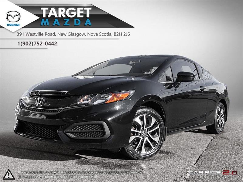 2014 Honda Civic Coupe $66/WK TAX IN! EX! AUTO! SUNROOF! HEATED SEATS! #U1388