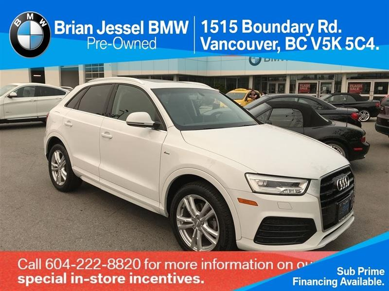 2016 Audi Q3 2.0T Technik quattro 6sp Tiptronic #BP6923
