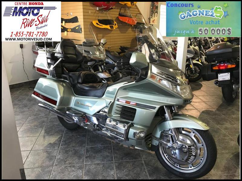 honda gl 1500 goldwing se moto 2000 occasion vendre pintendre chez moto rive sud. Black Bedroom Furniture Sets. Home Design Ideas