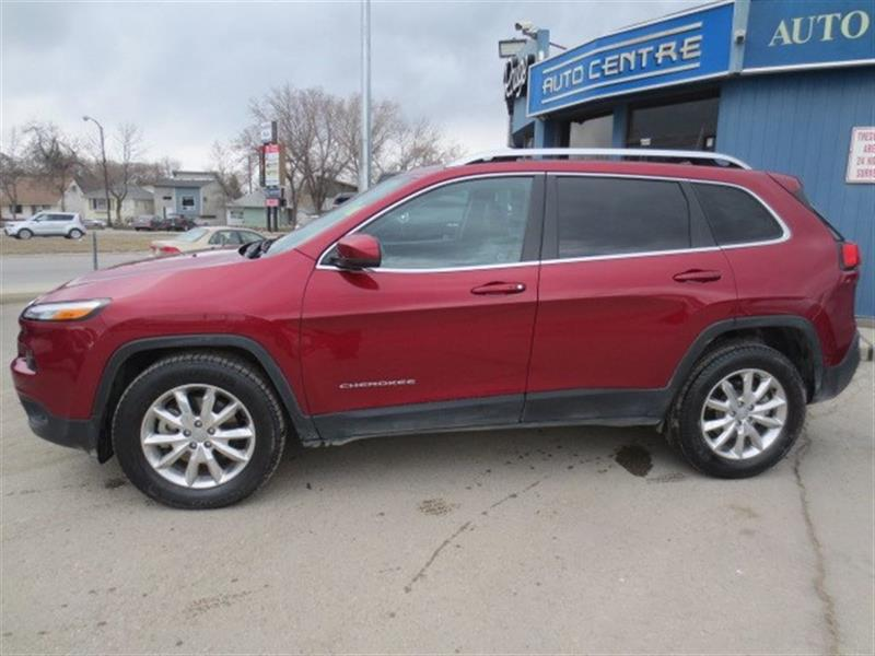 2016 Jeep Cherokee Limited 4X4 - NAV/SUNROOF/LTHR #3441