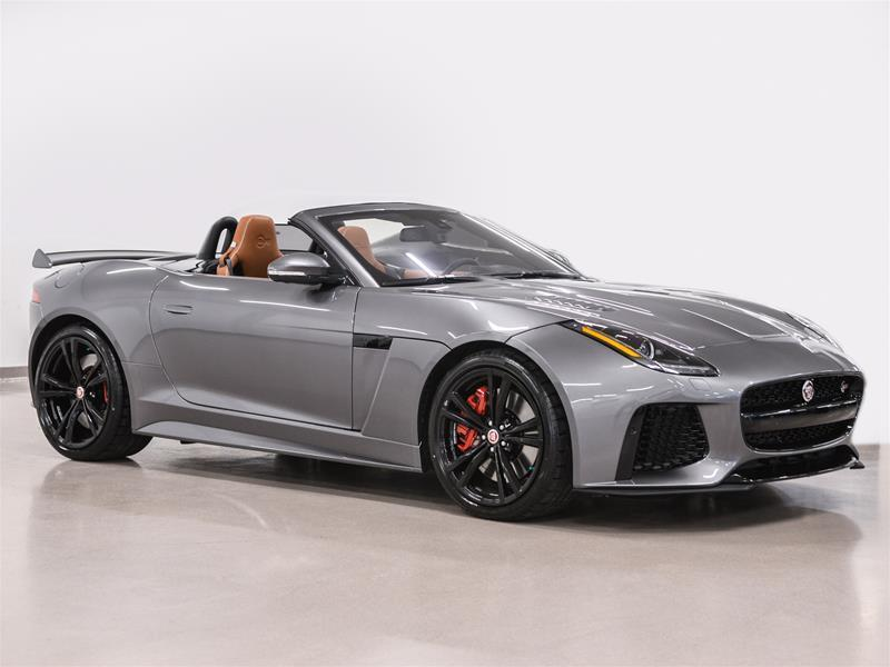 Jaguar F-TYPE 2017 Convertible SVR AWD @2.9% INTEREST CERTIFIED 6 YEA #18B221A