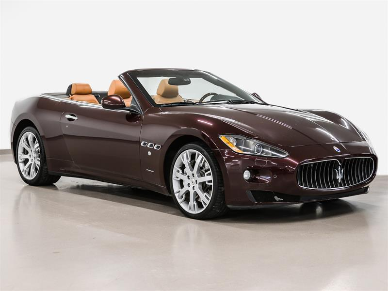 Maserati GranTurismo 2010 Convertible winter pricing #P2580