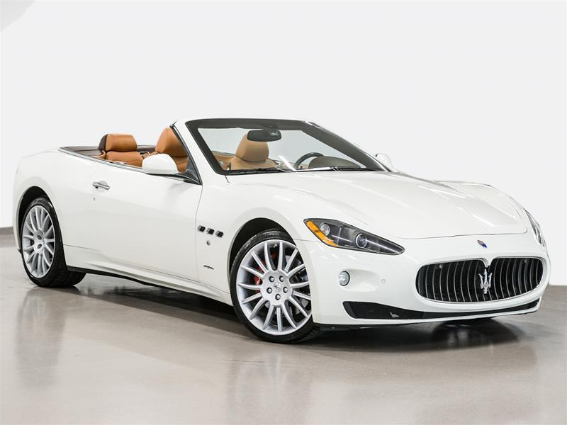 Maserati GranTurismo 2011 Convertible END OF SUMMER PRICING #P2520A