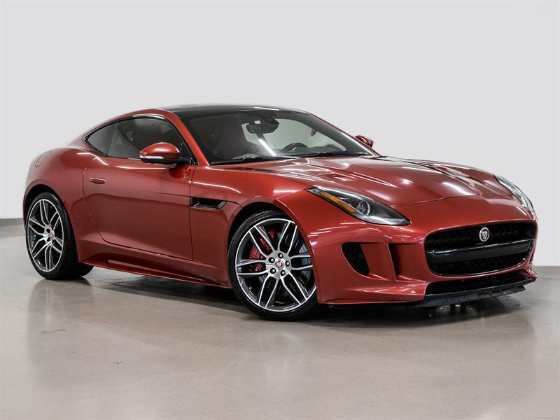 Jaguar F-TYPE 2016 Coupe R AWD @2.9% INTEREST CERTIFIED 6 YEARS 16000 #P2880