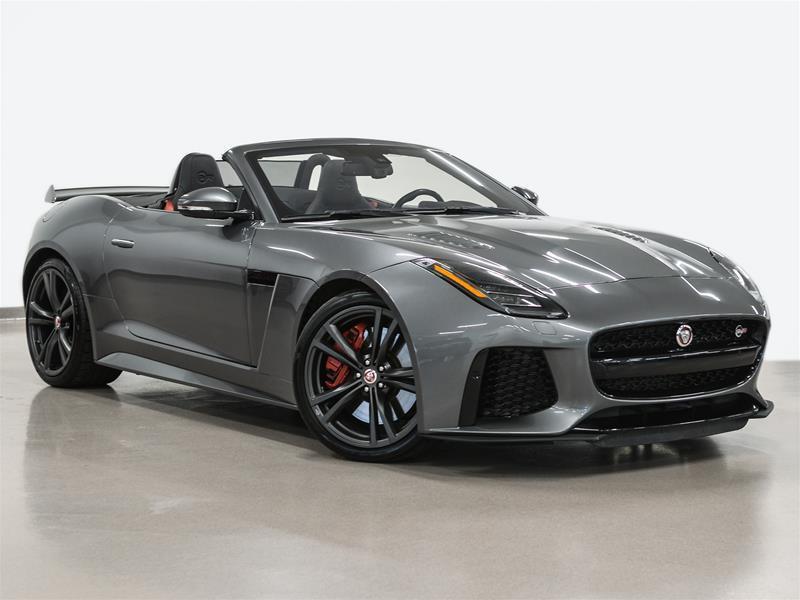 Jaguar F-TYPE 2018 Convertible SVR AWD @2.9% INTEREST CERTIFIED 6 YEA #P3010