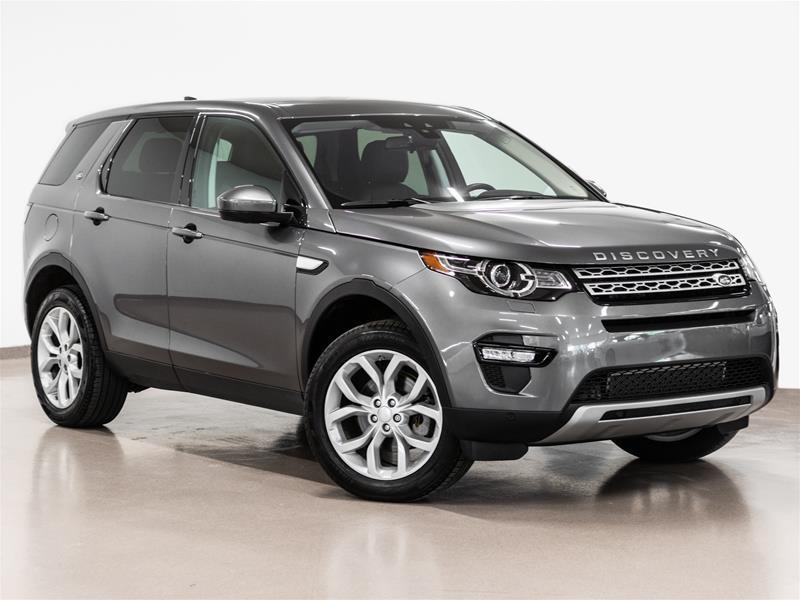 Land Rover Discovery Sport 2017 HSE @2.9% INTEREST CERTIFIED 6 YEARS 160000KM #18J2461