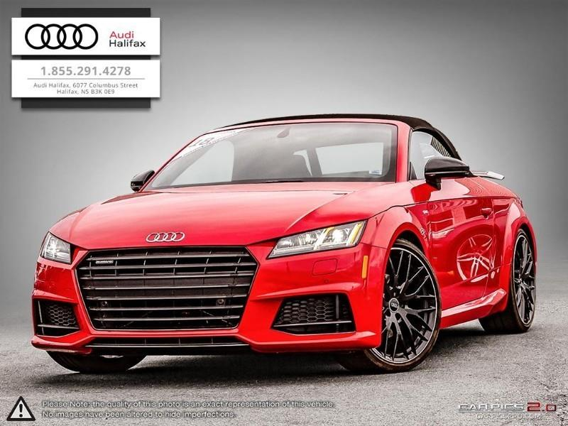 2018 Audi TT TT roadster Competition Pkg Turbo Quattro #TA18604
