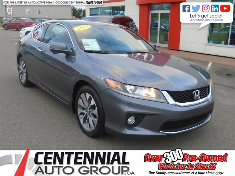 2014 Honda Accord Coupe EX-L | Navi | #9542A