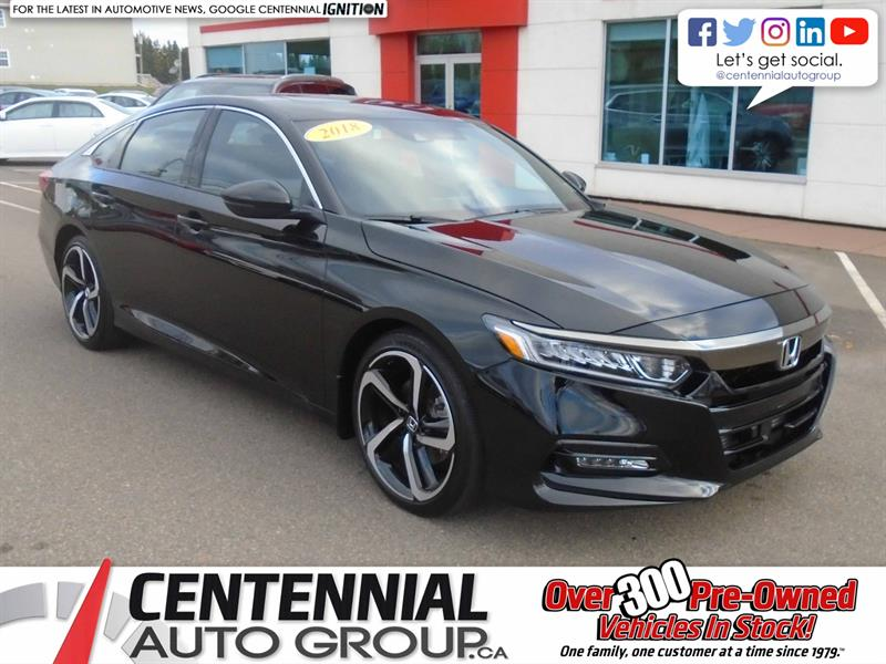 2018 Honda Accord Sedan Sport 2.0T |  #U1821A