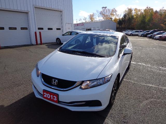 2013 Honda Civic Sdn 4dr Man EX 5 SPEED #DH032224A