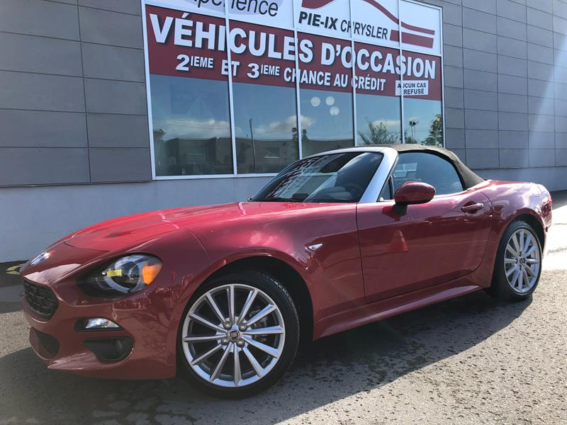 Fiat 124 Spider 2017 2dr Conv Lusso+CUIR+BLUETOOTH+WOW! #17245