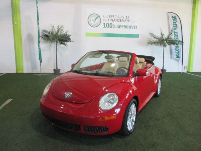 Volkswagen New Beetle Convertible 2009 2dr Comfortline #1676-05