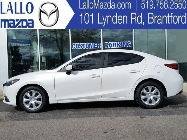 2015 Mazda MAZDA3 GX|MANUAL|A/C|BLUETOOTH #P2423